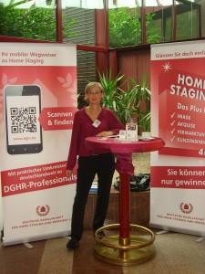 Homestagerin Margrita Naurath beim Immobilienforum Köln