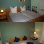 Homestyling bei einer Ferienwohnung - Vorher und Nachher